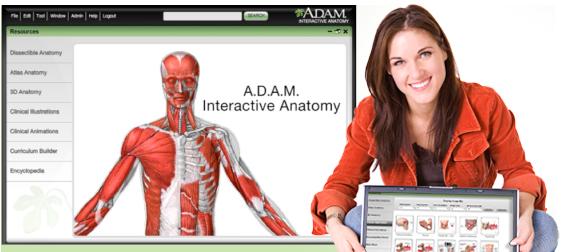 柏際公司-軟體代理的專家-A.D.A.M. Interactive Anatomy
